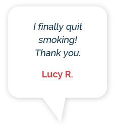 Lumme Health - Quit Smoking App - Testimonials - Person 2 - Speech Bubble