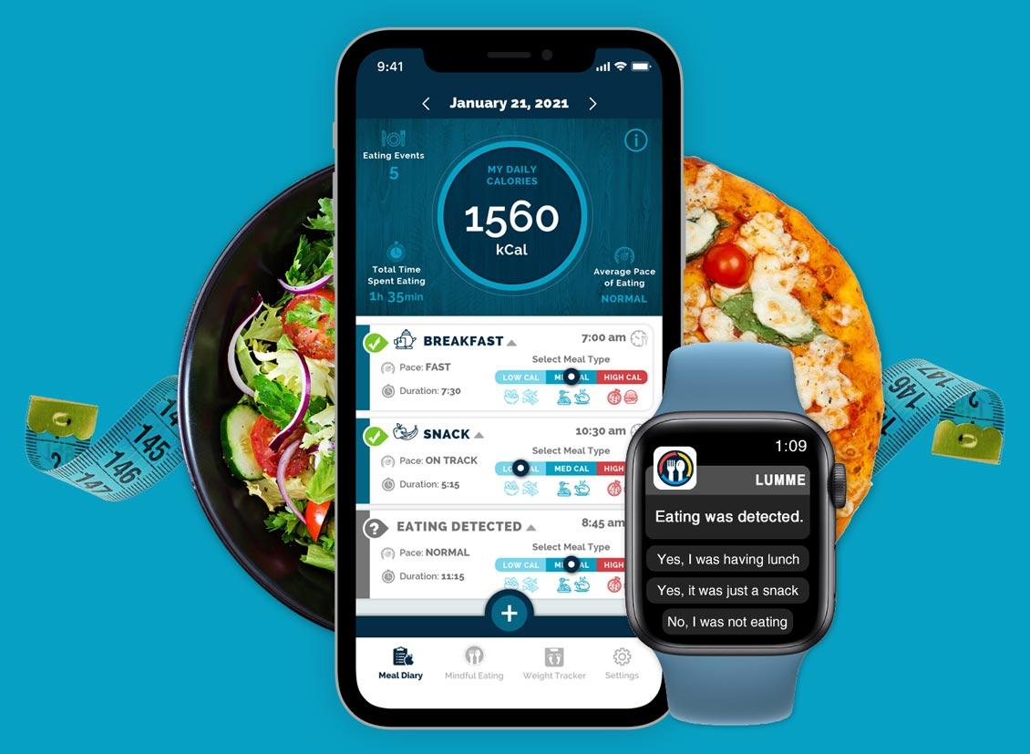 Lumme Health - kCalculator App - Header